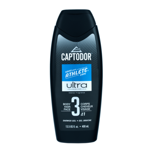 Suihkugeeli 3 in 1 CAPTODOR, 400ml