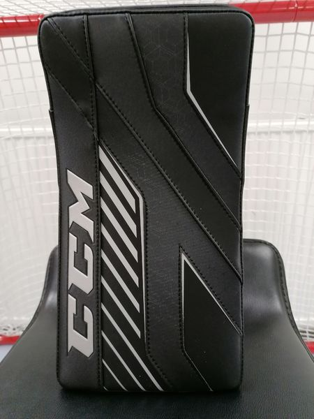 CCM AXIS 1.9 Kilpi INT, Musta/hopea